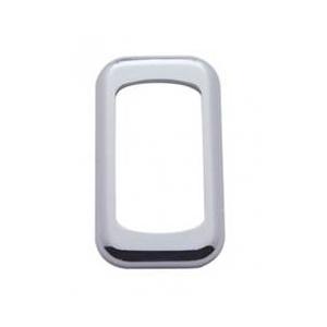 41074b aro plastico cromado tablero universal base for Espejo universal tractor